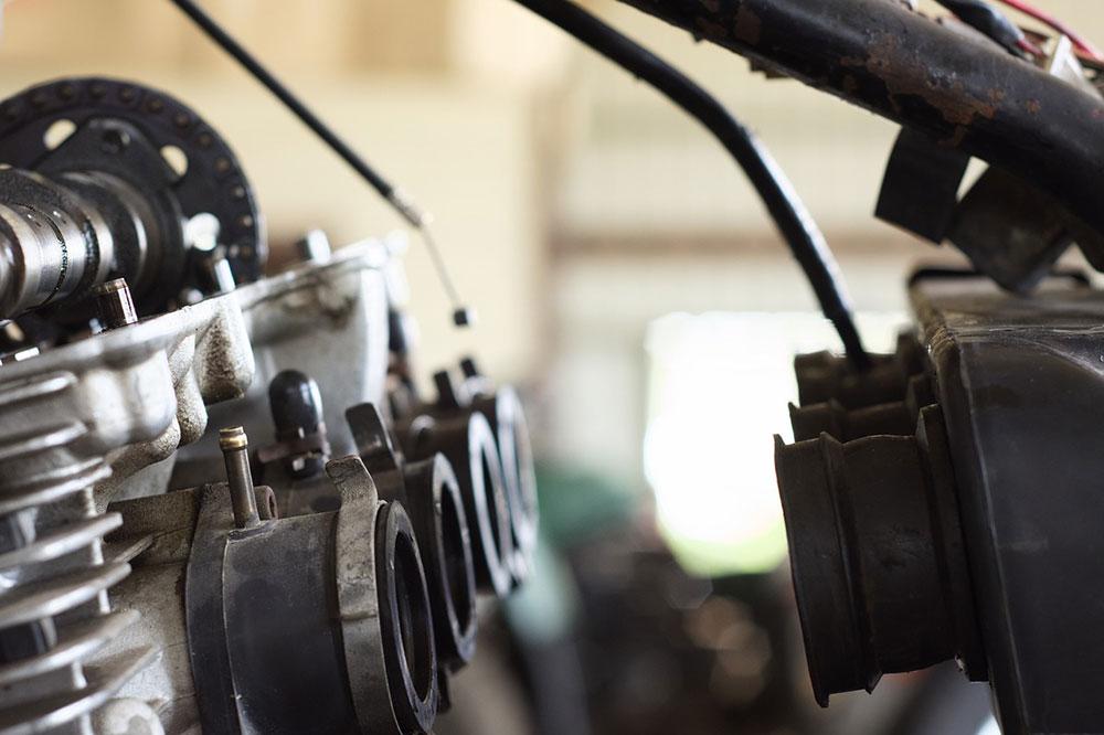 Motorrad-Werkstatt
