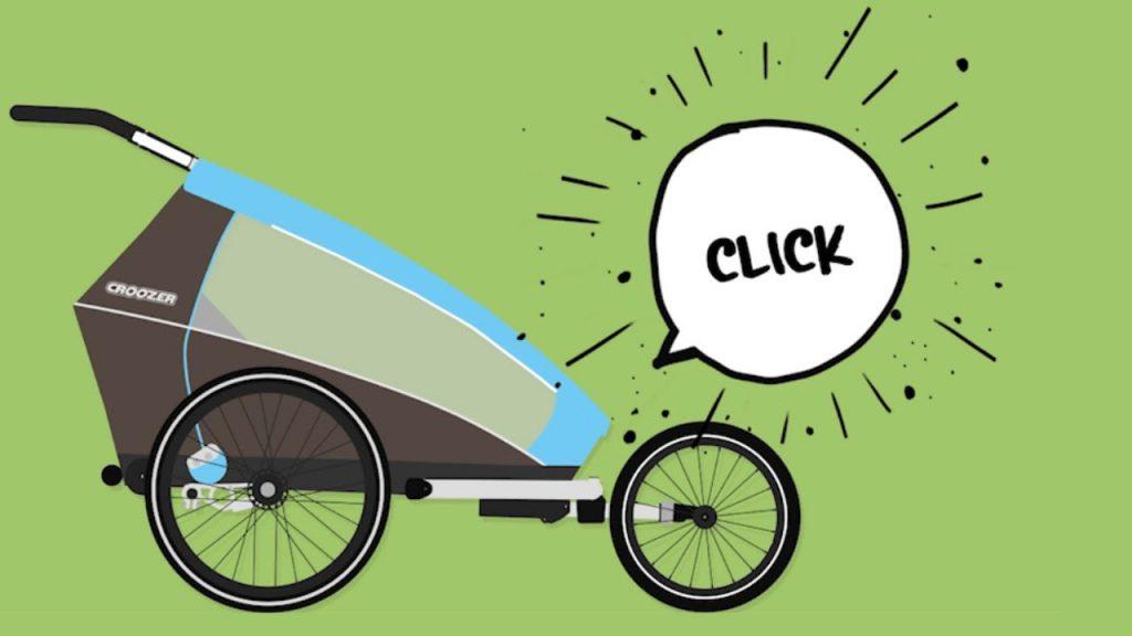 Fahrradanhänger, Buggy & Jogger: 1 Paket, 3 Möglichkeiten | Croozer®